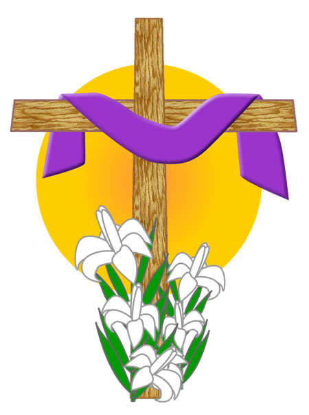 easter-lily-cross